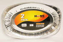 Aluminium Foil Medium 2pk Serving Platters