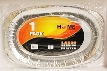 Aluminium Foil Large 1pk Serving Platter