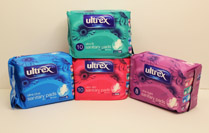 Ultrex Sanitary Napkins