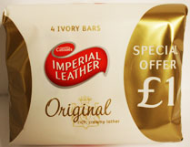 4Pk Imperial Leather Soap 100Gm