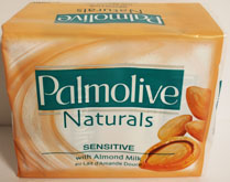 4Pk Palmolive Almond Soap 100Gm