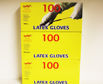 Latex Gloves Range